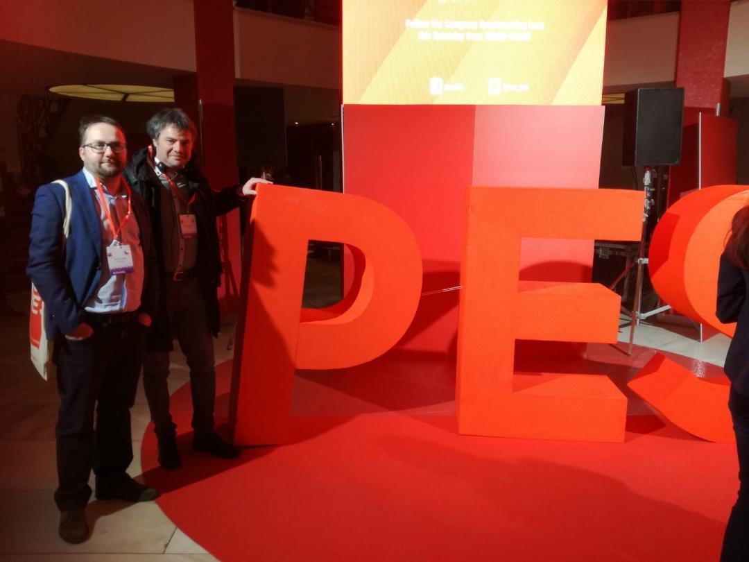 Due goriziani al congresso europeo del PSE a Madrid