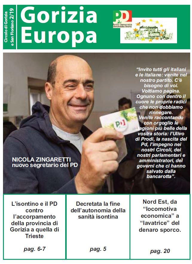Gorizia Europa: il n.2 del 2019