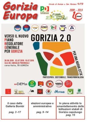 Gorizia Europa n.4/2019 con uno Speciale su Galleria Bombi