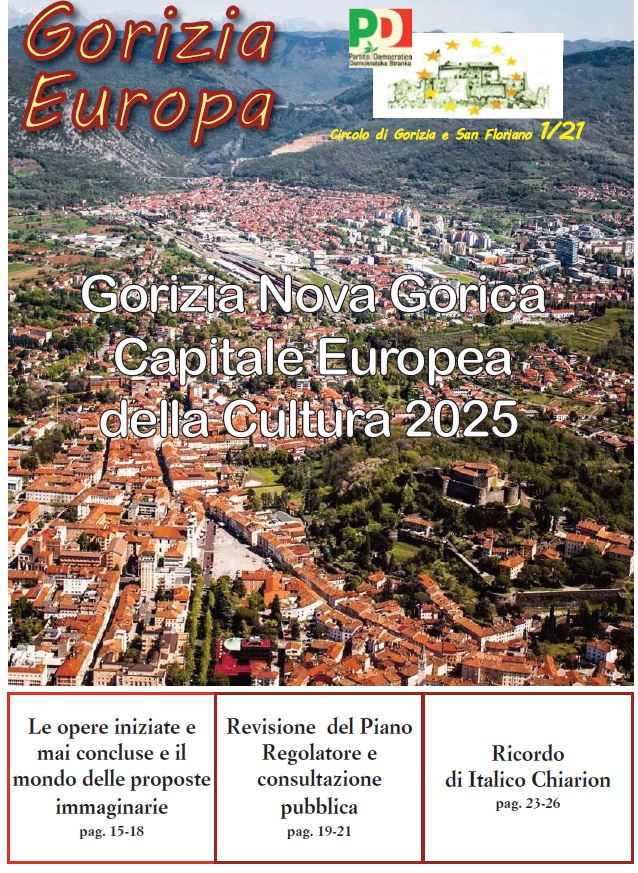 copertina del n.1/2021 di Gorizia Europa